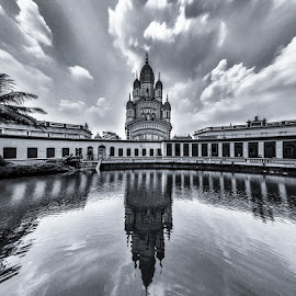 Temple by Md.Ashif Hassan - Buildings & Architecture Public & Historical ( water, temple, reflection, kolkata, dakshineswar )