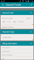 Screenshot of My Tri-C Card