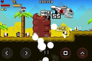 Screenshot of Gunslugs