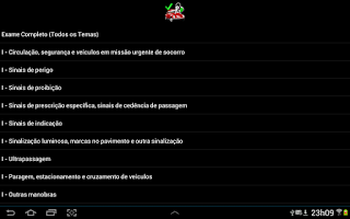 Screenshot of License Code Portugal Lite