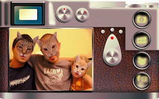 Screenshot of Cat Booth (cat face Camera)