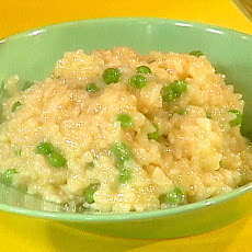 Risi e Bisi -- Italian style rice and peas