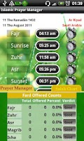 Screenshot of Islamic Muslim Prayer Manager