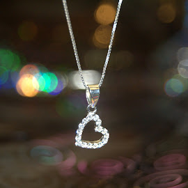 Silver Heart Pendant by Paul Nelson - Artistic Objects Clothing & Accessories