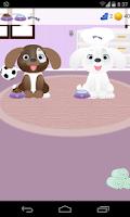 Screenshot of dog care games