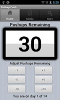 Screenshot of Double Your Pushups Two Weeks
