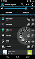Screenshot of 3D Sounds Ringtones
