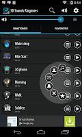 Screenshot of 3D Sounds Ringtones