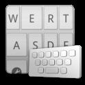 ClearkeySilver keyboard skin icon