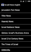 Screenshot of Israeli News English