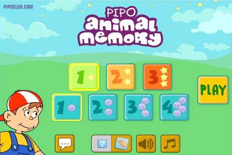 Pipo Animal Memory