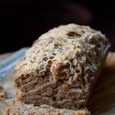 Cheddar & Chive Guinness Bread