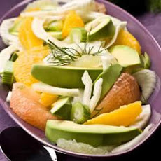 Avocado Fennel Citrus Salad