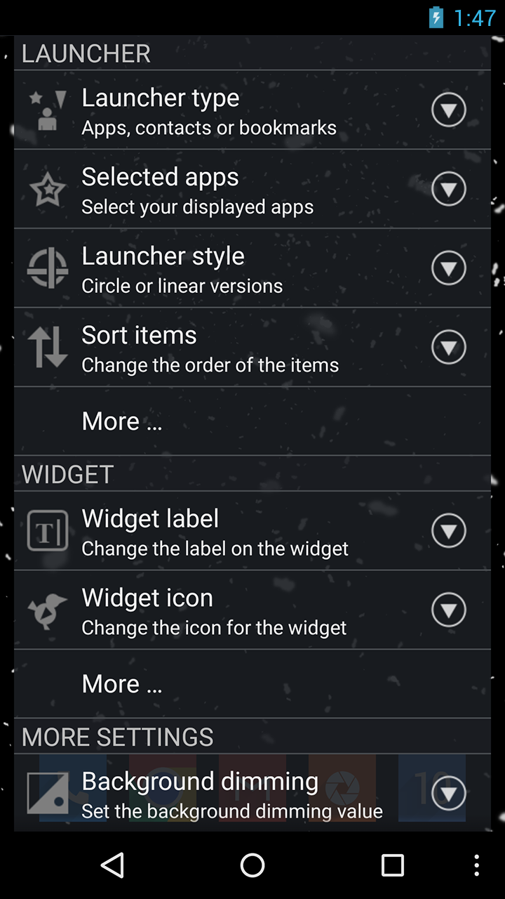 CircleLauncher Screenshot 5
