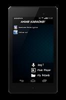 Screenshot of Anime Karaoke