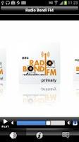 Screenshot of Radio Bondi