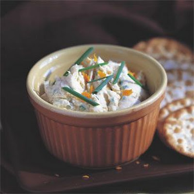 Smoked Trout Mousse with Orange and Chives
