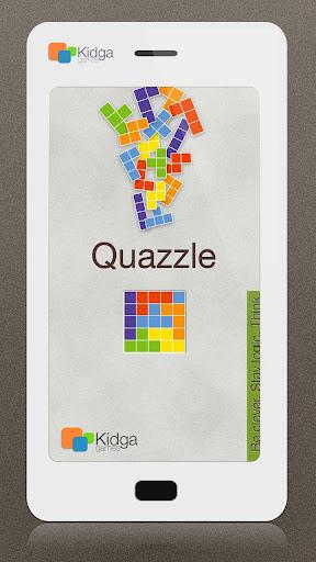 Quazzle HD (新しいテトリス) 玩解謎App免費 玩APPs