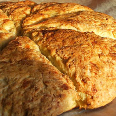 Bed and Breakfast Spiced Pumpkin Scones With Honey Butter