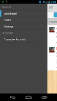 Screenshot of Teambox