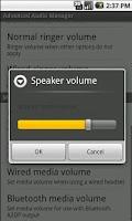 Screenshot of Volume Manager