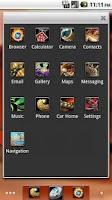 Screenshot of ADW Theme - WoW Horde