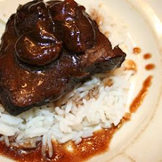 Cherry Balsamic Short Ribs