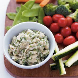 White Bean & Herb Hummus with Crudites