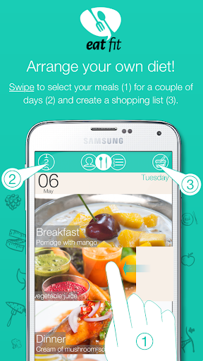 Eat Fit - Diet and Health - screenshot