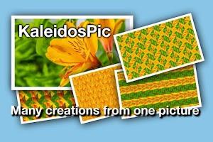 Screenshot of KaleidosPic