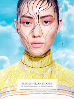Photography Daniel Sannwald, Stylist Yann Weber, Makeup Fulvia Farolf