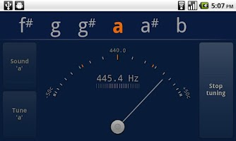 Screenshot of Tuner - gStrings