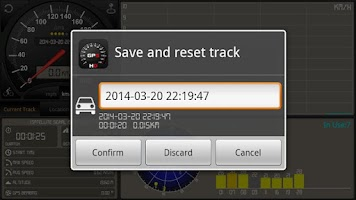 Screenshot of Speedometer GPS HD