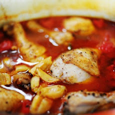 Chicken with Tomatoes and Garlic