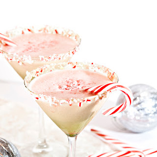 Peppermint Eggnog Cocktail