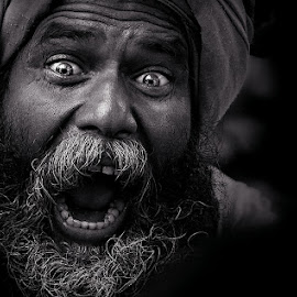 ** by Shibram Nag - People Portraits of Men