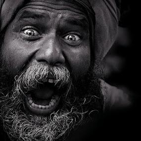 ** by Shibram Nag - People Portraits of Men