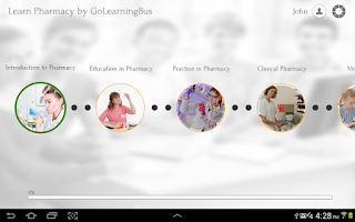 Screenshot of Learn Pharmacy