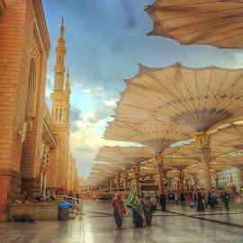 The Prophet Mosque by Ellys Purwandari - Instagram & Mobile Android ( islam, mosque, architecture )