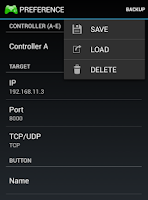 Screenshot of WiFi TCP/UDP Controller 16