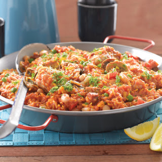 Chicken And Mushroom Paella