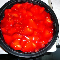Ww Crustless Strawberry-Banana Pie