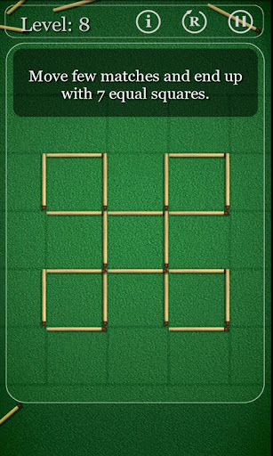 puzzles-with-matches for android screenshot