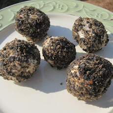 Black Olives Goat Truffles
