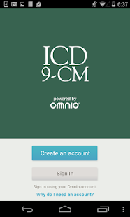 ICD-9-CM Screenshot