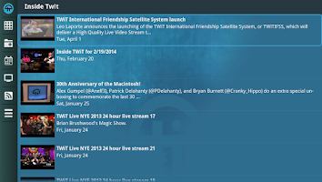 Screenshot of Twit.Tv for Google Tv