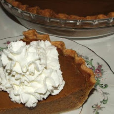 Kelly's Pumpkin Pie
