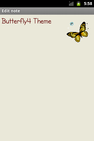 Butterfly4Theme