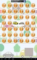Screenshot of Free Car Memory/Match Game