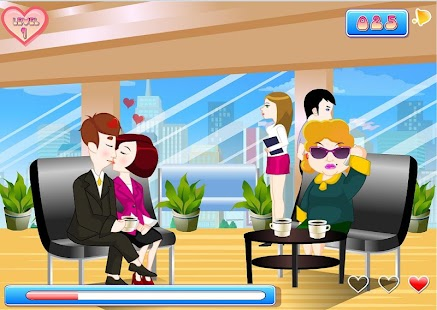 Kissing Office Game - screenshot